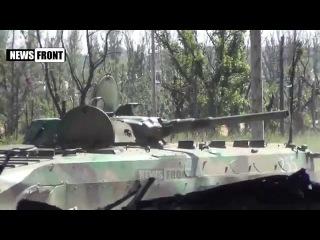 """Батальон """"Сомали"""" в Донецком аэропорту """"Перемирие"""" идет полным ходом 9 июня 2015"""