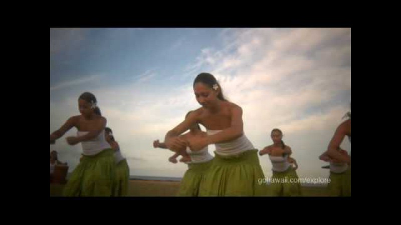 Na Hula O Kaohikukapulani hula practice on Kauai