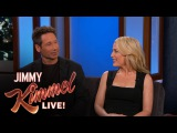 David Duchovny &amp Gillian Anderson on Getting Their X-Files Roles