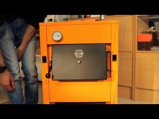 Обзот твердотопливного котла ДТМ ЭКо 10-16 кВт