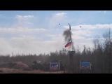 Ракета С-300 упала во время учений Russian rocket exploded during exercises