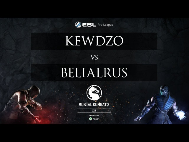 Kewdzo vs. BelialRus - MKX Pro League - CIS - Mid-Season Showdown - RO16