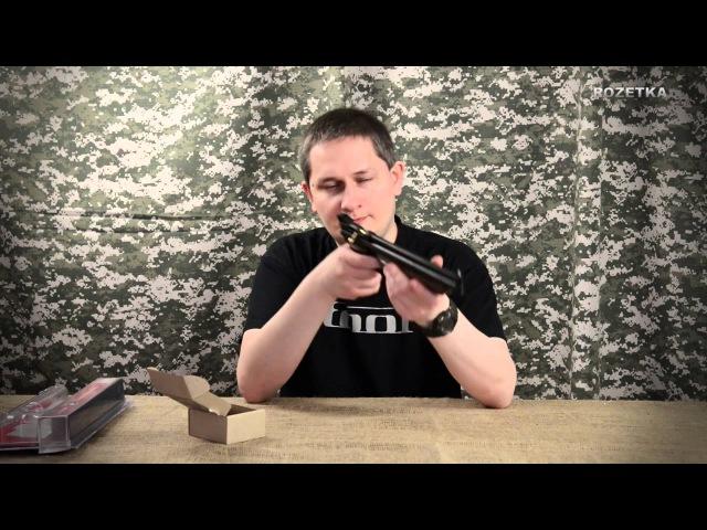 Обзор пневматического пистолета Crosman 1377 American Classic