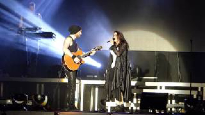Within Temptation - Sinéad (acoustic) @ Z7 Summer Night 0015-07-25