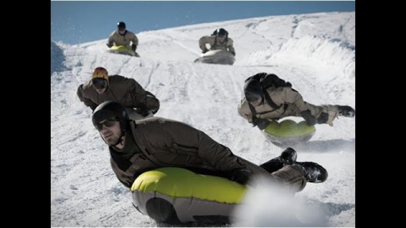 ТурбоСанки зимние надувные сани для скоростных спусков с гор Фрирайд