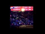 Болельщики Ливерпуля покидают стадион в матче с Сандерлендом
