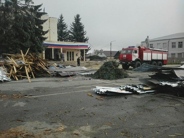 Зеленчукский район Карачаево-Черкесии пострадал от «урагана»