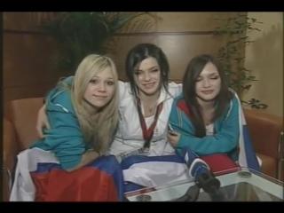 группа Серебро -Репортаж о Евровидение 2007