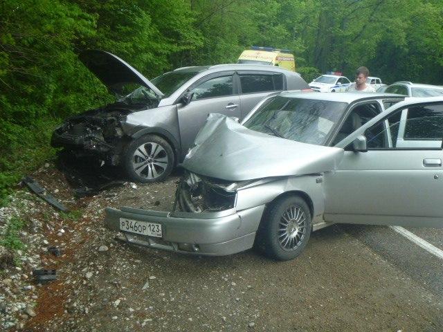 ДТП авария на 1491 км трассы М4 Дон в Краснодарском крае 11.05.2015