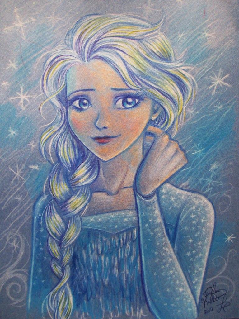 Эльза Холодное Сердце побег Олафа