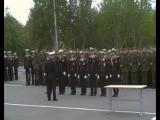 Присяга в/ч 62834 Оленегорск-2