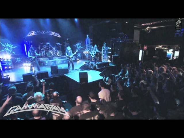 GAMMA RAY Gamma Ray Live from Live Skeletons Majesties Official DVD / Blu-Ray