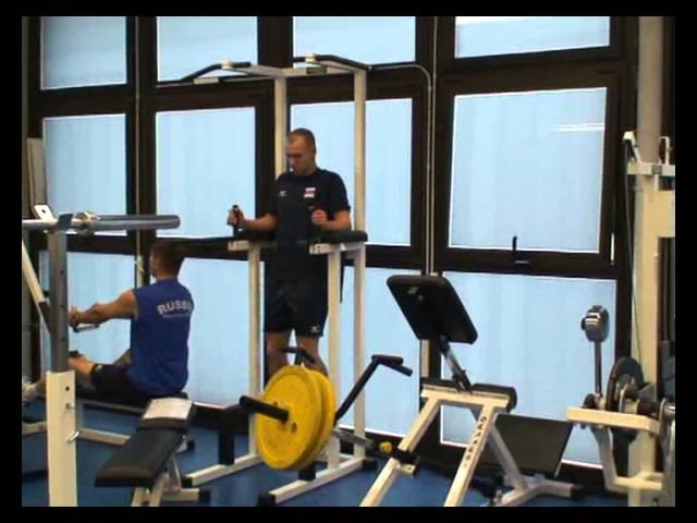 Волейбол. Обучающее видео. Силовая подготовка. Часть 1.4.