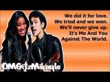Keke Palmer &amp Max Schneider - Me And You Against The World (Full Studio Version) - Lyrics (DL Link)