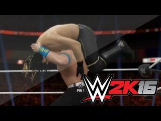 WWE 2K16 - FIRST LOOK OF ATTITUDE ADJUSTMENT(FU) BY JOHN CENA