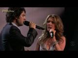 Celine Dion &amp Josh Groban Live