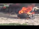 Попадание в танк Т 72 из РПГ 29 Вампир в Сирии отрывок