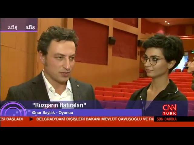 Rüzgarın Hatıraları festival izleyicisiyle buluştu (CNN Türk/Afiş)
