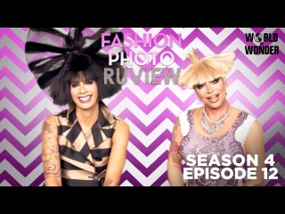 RuPaul's Drag Race Fashion Photo RuView with Raja and Raven: Season 4 Episode 12