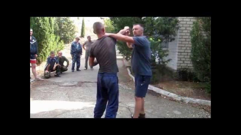 Защитные действия , периферическое зрение в русском стиле - системе рукопашного ...
