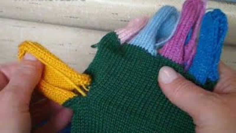Как вязать перчатки Часть 2