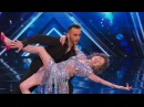 America's Got Talent 2015 S10E03 Tao Porchon Lynch and Vard 96 Year Old Dancer
