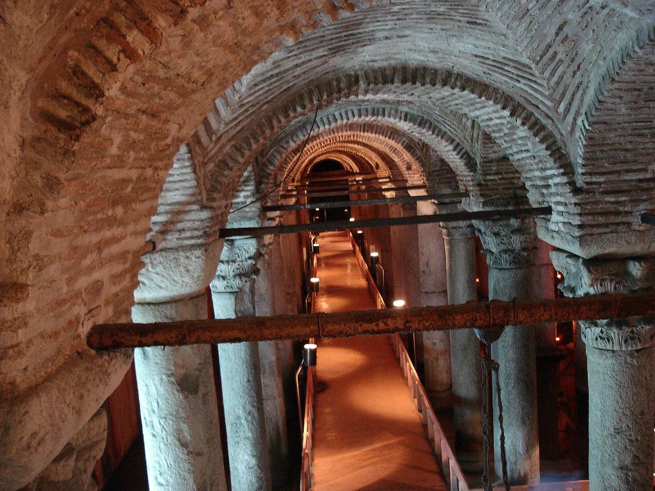 подземные водохранилища стамбула