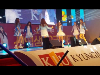 160215 ღ lovelyz — ah-choo ღ «kyungil university freshman orientation»