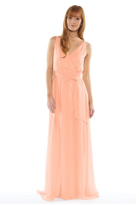 dduiDw1FS6Y - Актуальные в наступающем сезоне персиковые свадебные платья