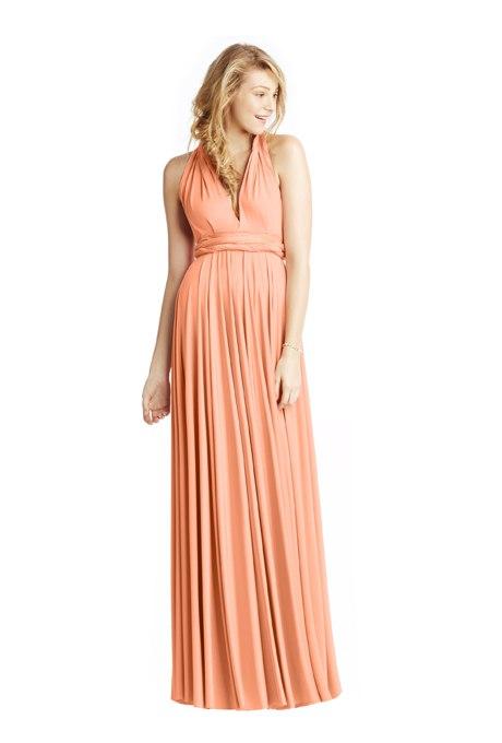 spEIrG6Mp6E - Актуальные в наступающем сезоне персиковые свадебные платья
