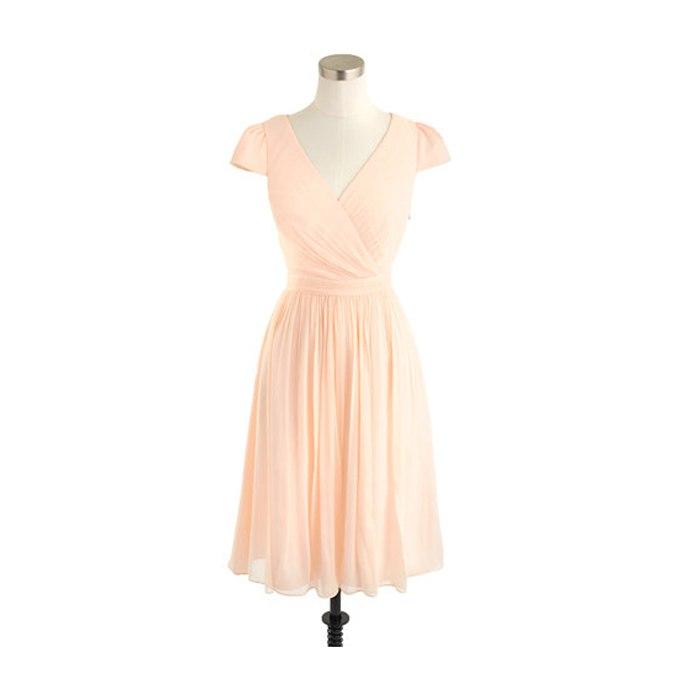 tdlcE7BGWos - Актуальные в наступающем сезоне персиковые свадебные платья