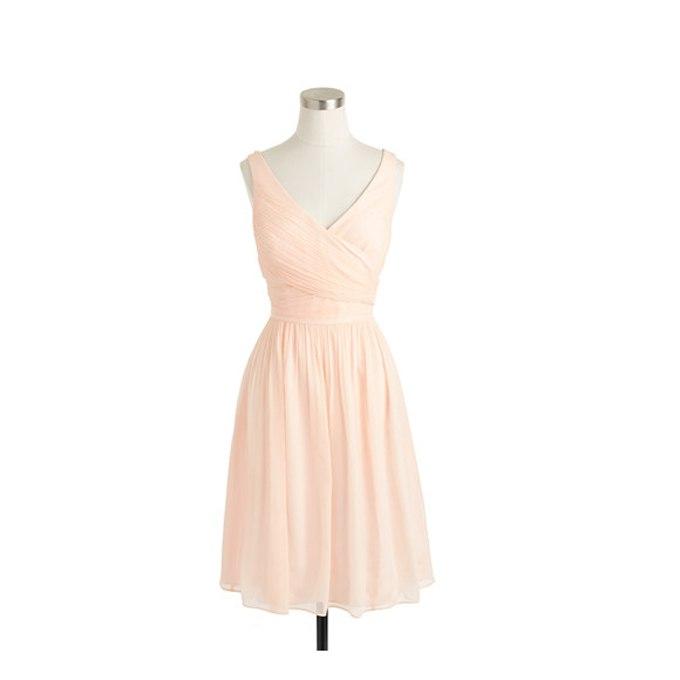 98boghWouEo - Актуальные в наступающем сезоне персиковые свадебные платья