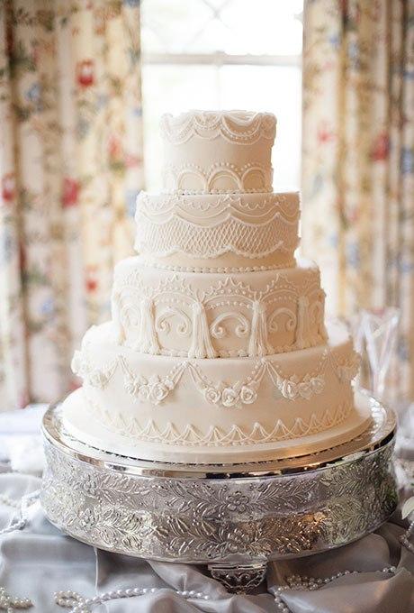 Ia9f9Jxx1Mw - 23 Белоснежных свадебных торта