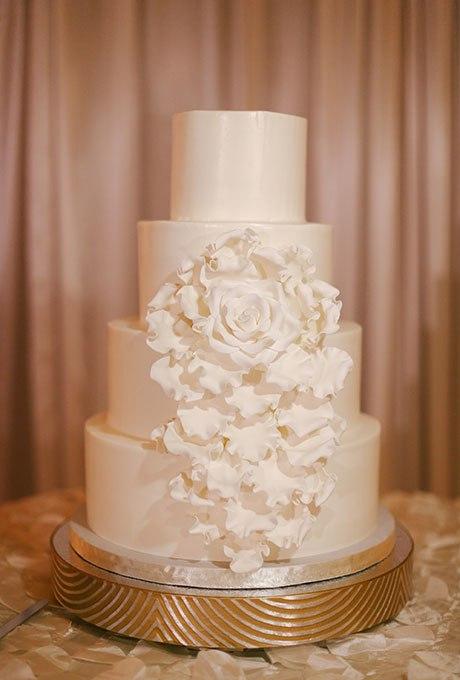 Aq0H9ehhGWg - 23 Белоснежных свадебных торта
