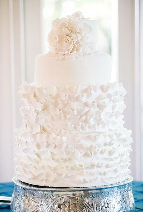 vlABVQUzJ c - 23 Белоснежных свадебных торта