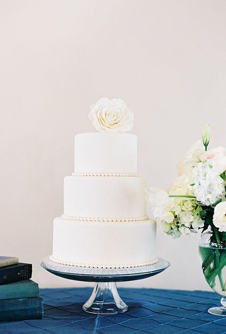 GPn8SNUxrIA - 23 Белоснежных свадебных торта