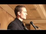Пол Уокер - видео-интервью и выступление о работе над фильмом