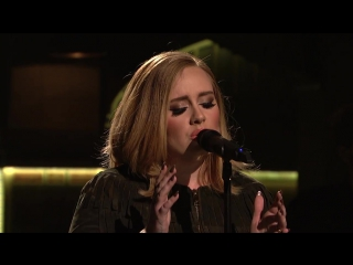 Адель | Adele - When We Were Young (Live on Saturday Night Live ) 21 11 2015 в Нью-Йорк, США.