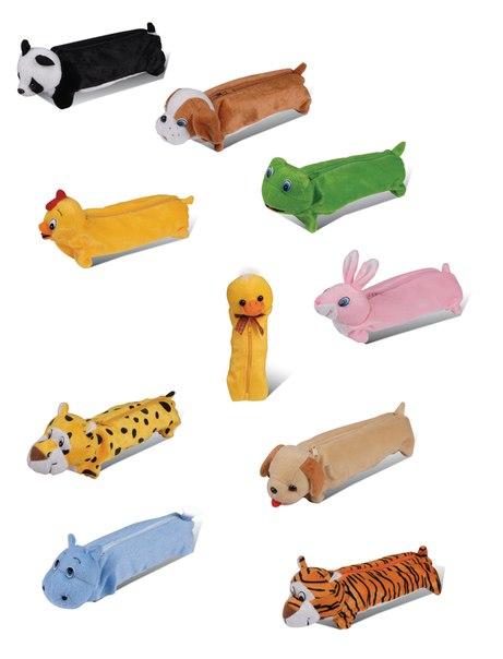 Пеналы в виде животных