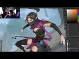 Templar Assassin Art Sream vol2