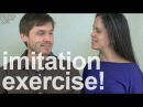 American English Imitation Exercise: What did you do today?