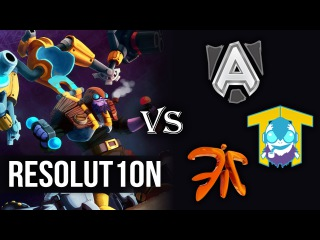 Resolut1on Tinker vs Alliance Fnatic and Team Tinker   Dota 2 Pro Gameplay