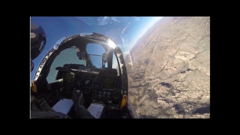 Fly With The Legendary BRRRT Machine - HD GoPro A-10 Warthog Cockpit View