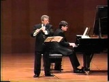 Poulenc FLUTE SONATA (1st Mov.) _ James Galway