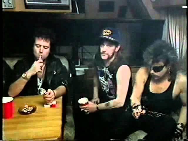 Motörhead - Band Interview - Motörhead