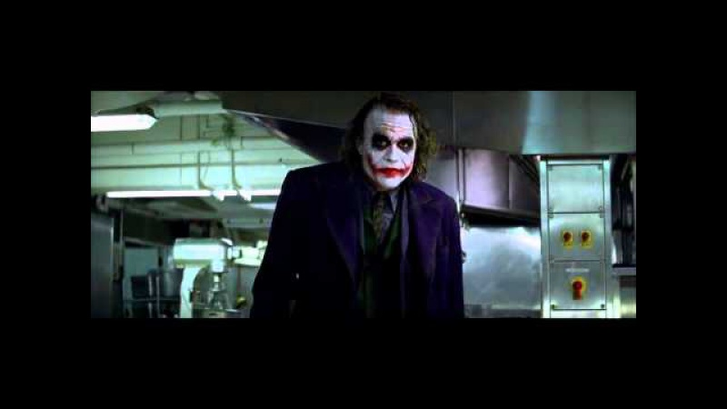 Джокер | фокус с карандашом (Темный Рыцарь \ Dark Knight)