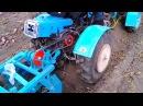 Мини трактор из мотоблока с картофелекопалкой ККМ-1