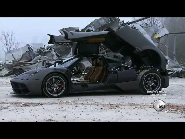 How Its Made Dream Cars s02e02 Pagani Huayra 720p
