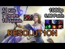 Resolution | Mirana vol.1 | Dota 2 Pro Gameplay