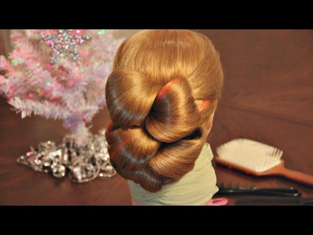 Две разные причёски от хвостов | Авторские причёски | Hairstyles by REM | Copyright ©